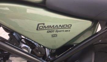 NORTON COMMANDO 961 MKII SPORT Km Zero completo