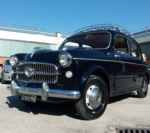 FIAT 1100 103 – 1954 completo