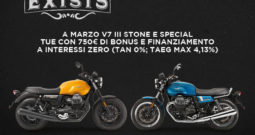 MOTO GUZZI V7 III STONE E SPECIAL